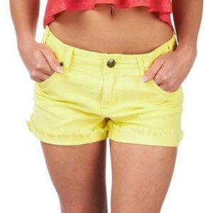 Free People Corduroy Cut-off Shorts